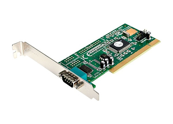 StarTech.com 1 Port PCI RS232 Serial Adapter Card - PCI rs232
