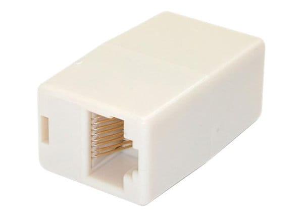 StarTech.com Cat5e RJ45 Modular Inline Coupler - Cat5e Coupler