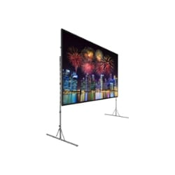 Da-Lite Fast-Fold Deluxe Screen System Wide Format - projection screen - 16