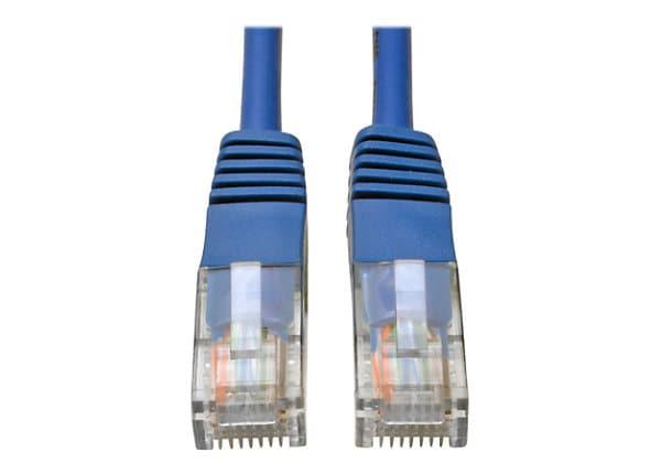 Tripp Lite 10ft Cat5e Cat5 350MHz Blue Molded Patch Cable RJ45 M/M 10'