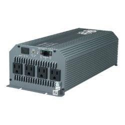 Tripp Lite Compact Inverter 1800W 12V DC to AC 120V 5-15R 4 Outlet