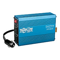 Tripp Lite 375W Compact Car Portable Inverter 12V DC to 120V AC 2 Outlet