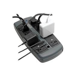 Tripp Lite Surge Protector 120V 10 Outlet RJ11 8ft Cord 2395 Joule