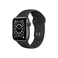 Apple Watch Series 6 (GPS) - space gray aluminum - smart watch with sport b