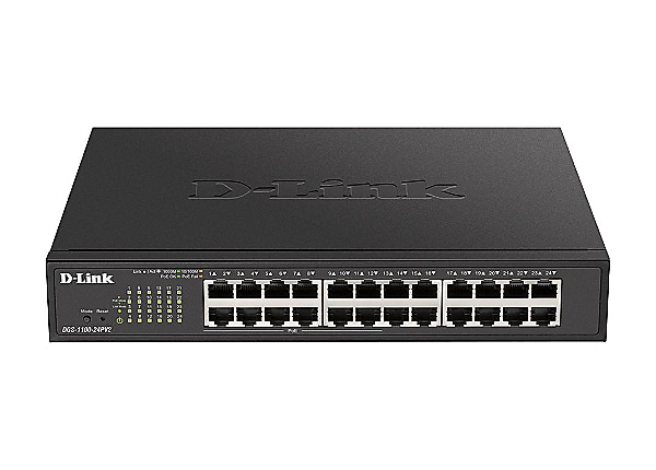 D-Link DGS 1100-24PV2 - switch - 24 ports - smart - rack-mountable