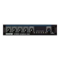 Shure SCM268 analog mixer - 4-channel