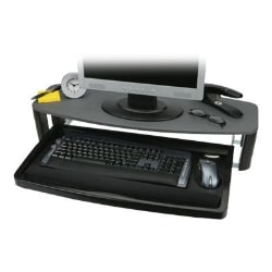 Kensington Over/Under Keyboard Drawer with SmartFit System - monitor stand