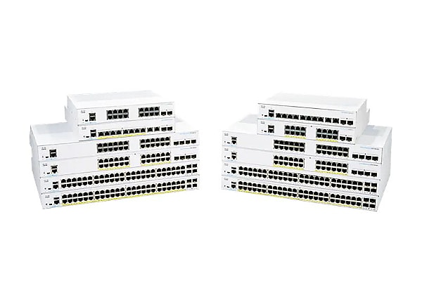Cisco Business 350 Series 350-16P-E-2G - switch - 18 ports - managed - rack