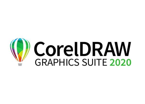 CorelDRAW Graphics Suite 2020 for Mac - license - 1 user