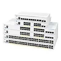 Cisco Business 350 Series 350-16T-2G - switch - 16 ports - managed - rack-m