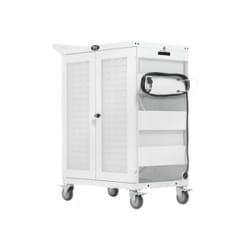 Tripp Lite Safe-IT UV Charging Cart Antimicrobial 32-Port Multi-Port AC for