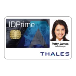 SafeNet Thales IDPrime MD 830 Plug and Play Smart Card