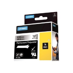Dymo - permanent tape - 1 roll(s) - Roll (0.9 cm x 5.5 m)