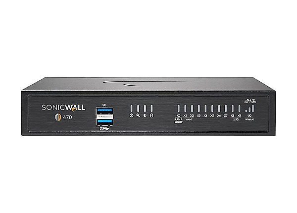 SonicWall TZ470 - security appliance