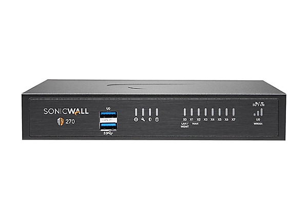 SonicWall TZ270 - Advanced Edition - security appliance