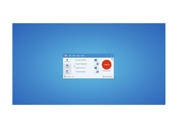 Snagit 2021 - license extension + Maintenance - 1 user