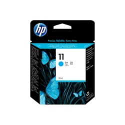 HP 11 (C4836A) Cyan Original Ink Cartridge