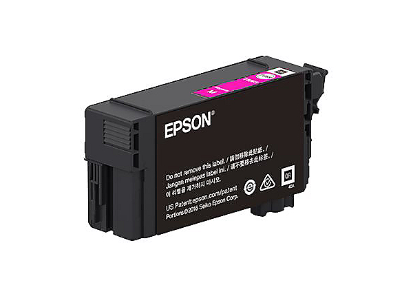 Epson T41P - High Capacity - magenta - original - ink cartridge