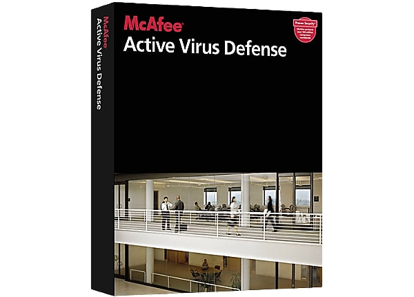 McAfee Gold Business Support - technical support - for Active Virus Defense