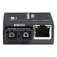 Black Box Industrial Mini Gigabit Media Converter LGC320A-R3 - fiber media