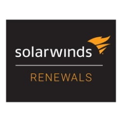 SolarWinds Maintenance - technical support (renewal) - for SolarWinds Appli