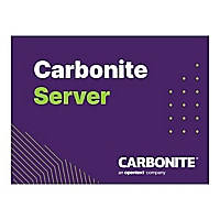 Carbonite Server - subscription license (1 year) - 4 TB capacity