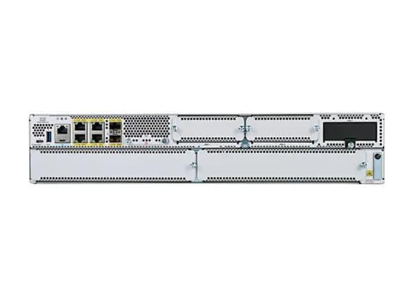 Cisco Catalyst 8300-2N2S-4T2X - router - rack-mountable