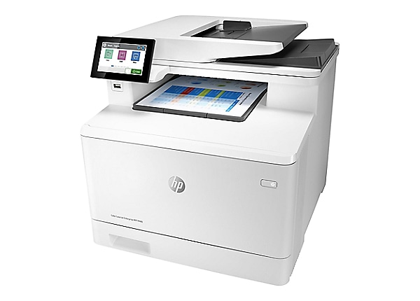HP LaserJet Enterprise MFP M480f - multifunction printer - color