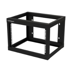 "StarTech.com 6U 19"" Wall Mount Network Rack - 19"" Deep Open Frame for Serve"