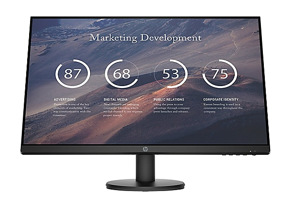 HP P27v G4 - LED monitor - Full HD (1080p) - 27""