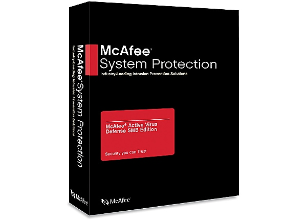 McAfee Active Virus Defense Small Business Edition - competitive upgrade li