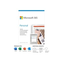 Microsoft 365 Personal - box pack (1 year) - 1 person