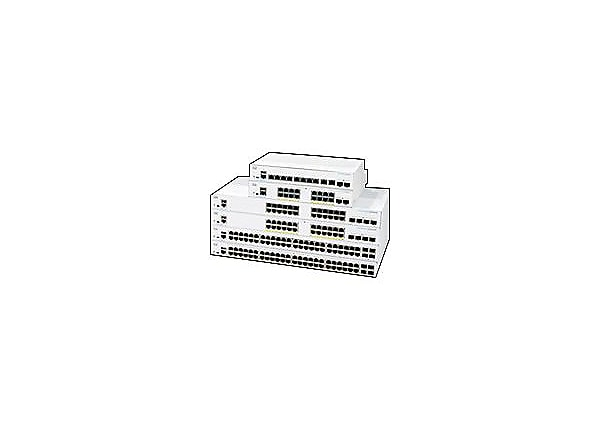 Cisco Business 250 Series 250-24PP-4G - switch - 24 ports - smart - rack-mo