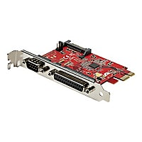 StarTech.com PCIe Card with Serial and Parallel Port - Combo Adapter Card