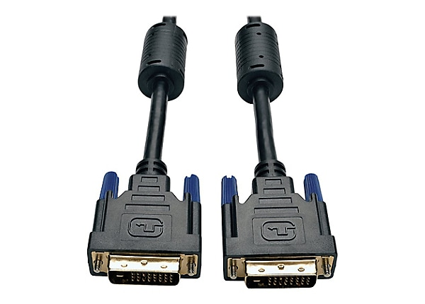 Tripp Lite 6' DVI Dual Link TMDS Monitor Cable Shielded DVI-D M/M 6ft