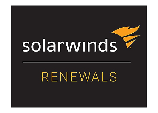 SolarWinds Maintenance - technical support (renewal) - for SolarWinds Web H