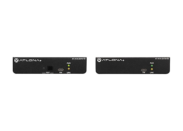 Atlona Avance AT-AVA-EX70-KIT - transmitter and receiver - video/audio/powe