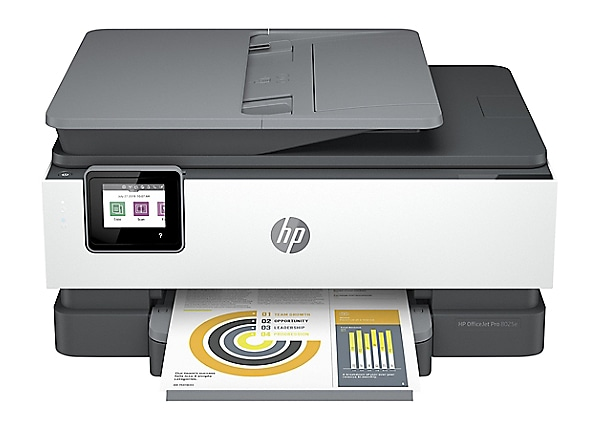 HP OfficeJet Pro 8025e Wireless Color All-in-One Printer - HP+