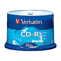 Verbatim CD-R, 50 pack