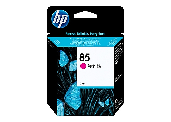 HP 85 - magenta - original - DesignJet - ink cartridge