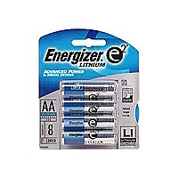 Energizer e2 Lithium AA 8 pack