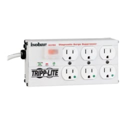 Tripp Lite Isobar Surge Protector Medical Metal 6 Outlet 15ft Cord