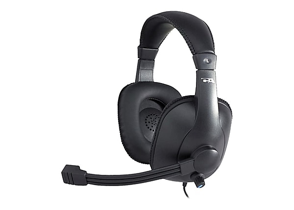 Cyber Acoustics AC960 - Stereo Headset / Mic Pro Grade