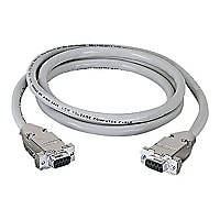 Black Box 20ft RS232 DB9 F/F Straight Through Shielded Serial Cable, 20'