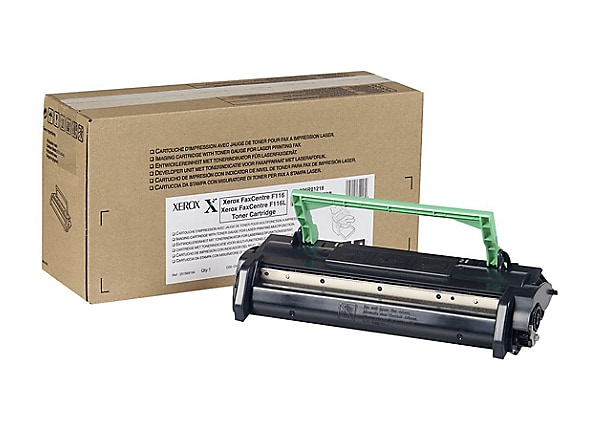Xerox FaxCentre F116 - black - original - toner cartridge