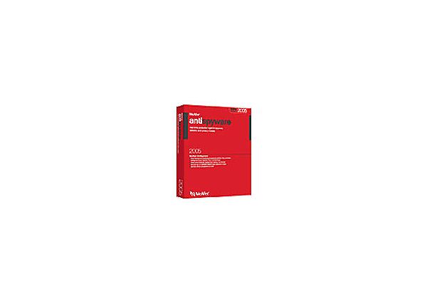 McAfee AntiSpyware - box pack - 1 user - with McAfee Personal Firewall Plus