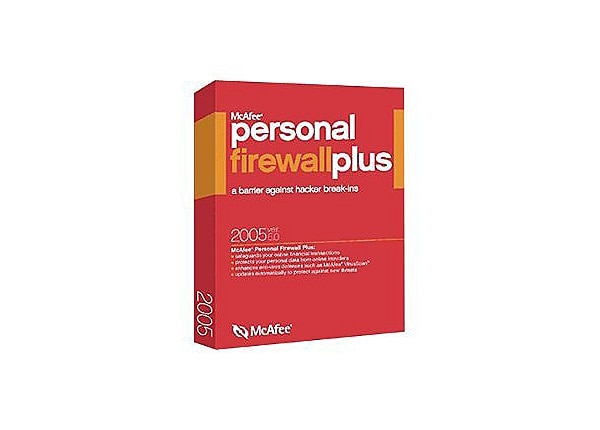 McAfee Personal Firewall Plus (v 6.0)