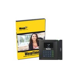 WaspTime Standard Barcode Solution - box pack - 1 administrator, 50 employe