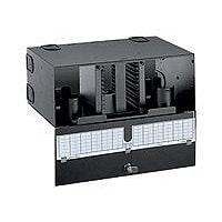 Panduit Opticom Fiber Optic Rack Mount Splice Enclosure - rack cable enclos