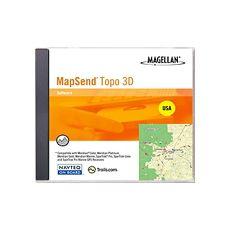 Magellan MapSend Topo 3D US - 1.0 - GPS software